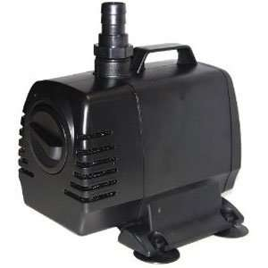 Power Head Fountain Pump 550 GPH w/ 16 Ft Cord: Patio, Lawn & Garden