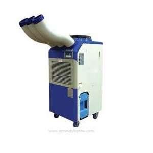 TPI Portable Air Conditioner, 36,000/37,000 BTU, 208/240V