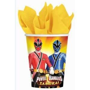 Power Rangers Samurai Birthday Party Cups 8ct Toys & Games