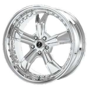 20x9 American Racing Shelby Razor (Chrome) Wheels/Rims