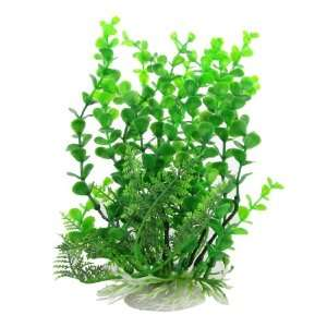 Como Fish Tank Simulated Green Plastic Aquatic 9.8 High