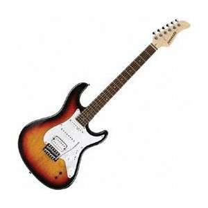 Pro Solid Body Electric Guitar 3 Tone Sunburst Musical Instruments