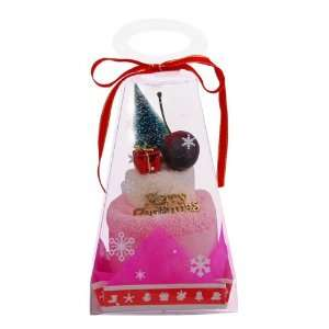 Merry Christmas Towel Cake Gift Set, Random Color