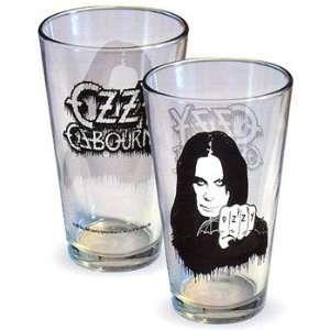 Ozzy Osbourne Beer Soda Pint Glass New