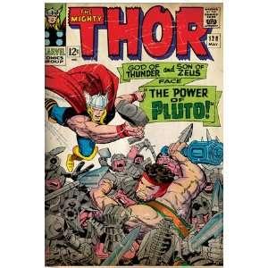 Marvel Comics Retro The Mighty Thor Comic Book Cover #128, Hercules