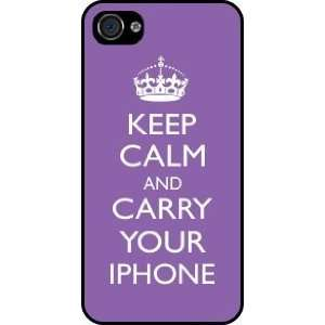 your iPhone Violet Color Rubber Black iphone Case (with bumper) Cover