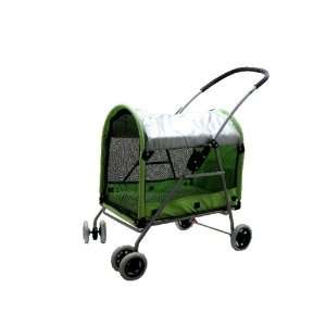 Pet Dog Cat Bed Stroller Carrier Green 3300 Kitchen