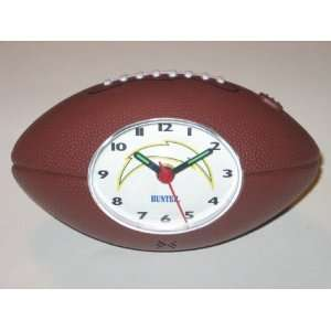 SAN DIEGO CHARGERS Team Logo Mini Football Shaped ALARM