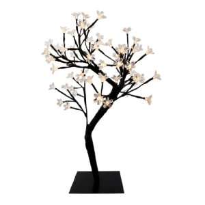 64 LED Light Cherry Blossom Tree Table Decor White LEDs