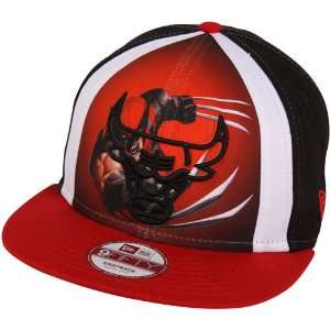 479e48dc106 ... Cap  NBA New Era Chicago Bulls Marvel Hero 9FIFTY Snapback Hat Black Red  ...