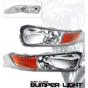 2007 Ford Mustang Chrome/Amber Bumper Light Performance Automotive