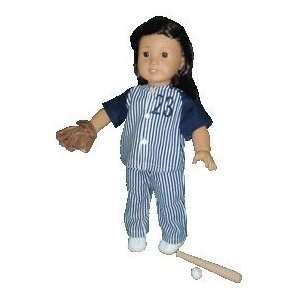Toy American Girl doll clothes Baseball Ensemble Toys