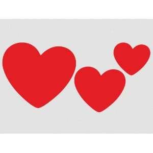 Wall Sticker Decal Heart 3 cute Heart Sticker (hz2)p