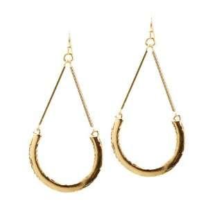 Cute and Elegant Gold Tone Dangle Earrings Jewelry