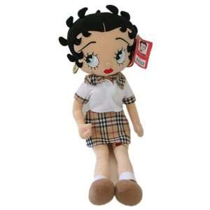 Betty Boop 18 Plush Doll  Casual Dress Toys & Games