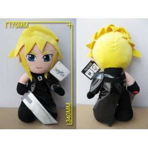 Final Fantasy 7 Cloud 12 Plush (Closeout Price): Toys