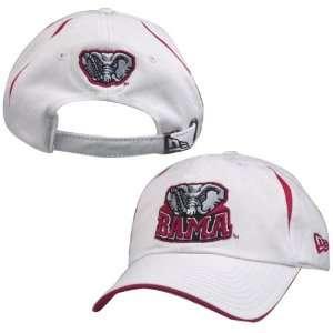 New Era Alabama Crimson Tide White Seam Hat Sports