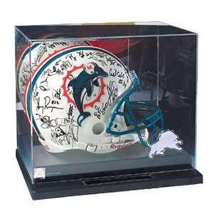 Detroit Lions NFL Liberty Value Full Size Football Helmet Display