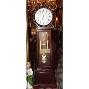 Grandfather Clock with Round Top 71 5/8h