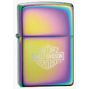 Zippo Spectrum, Harley Davidson Bar & Shield Logo Sports