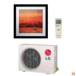 LG LA091HNP Art Cool Wall Heat Pump 13 SEER   9,000 BTU (3
