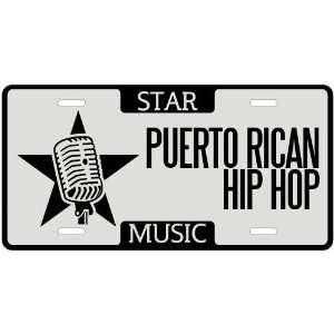 Am A Puerto Rican Hip Hop Star   License Plate Music