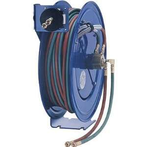 Welding Reel with 50ft. Oxygen Acetylene Dual Hose, Model# SHW N 150