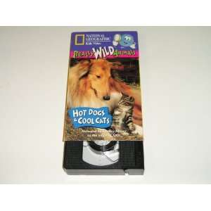 Really Wild Animals Hot Dogs and Cool Cats Kids Video (47 Minute Vhs