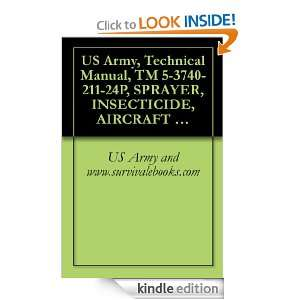 US Army, Technical Manual, TM 5 3740 211 24P, SPRAYER, INSECTICIDE