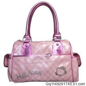 Hello Kitty Leather Like Handbag or Tote bag Everything