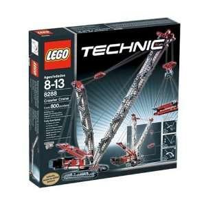 LEGO Technic Crawler Crane: Toys & Games