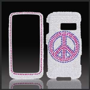 on Silver Cristalina crystal bling case cover LG Rumor Touch LN510