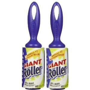 Evercare Giant Lint Roller, Extra Large Sheets, 60 ct 2