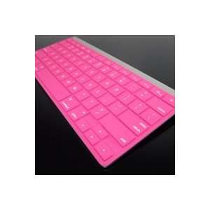SOLID PINK Keyboard Silicone Cover Skin for APPLE Wireless Keyboard