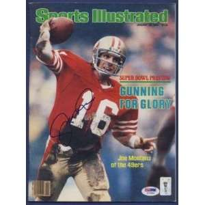 Signed 1982 Sports Illustrated PSA/DNA   Autographed NFL Magazines