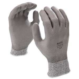 MAPA 560 Glove,Full Coated,PU/HPPE,Gray,8,Pr