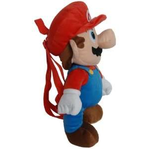 Super Mario Brothers Nintendo Plush Backpack Mario  Toys & Games