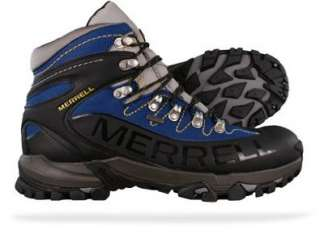 New Merrell Outbound Mid Gore Tex Mens Hiking Boots   Black Shoes