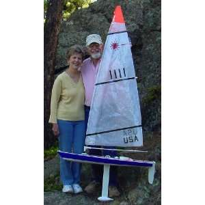 RC Laser Radio Control Model Sailboat Everything Else