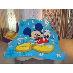 Disney Mickey Mouse Regular Size Car Bed Fleece Baby Blanket Throw