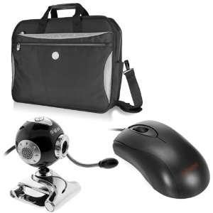 Arctic Water Resistant Laptop Bag + USB Webcam 8MP Mic