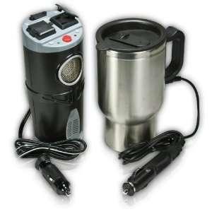 MobilePower CanPower 200   Watt Power Inverter and Heated Mug Combo