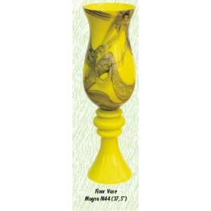 Yellow Magna Vase Hand Blown Modern Glass Vase