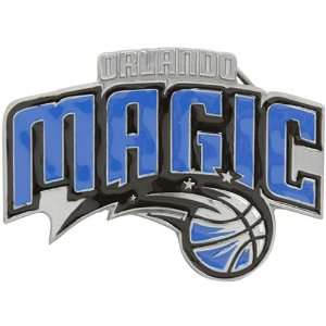 NBA Orlando Magic Pewter Team Logo Belt Buckle Sports