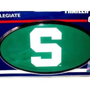 Michigan State Spartans Plastic Trailer Hitch Cover