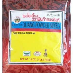 Pantai Oliang Powder Mixed Thai Coffee, 1 Pound:  Grocery