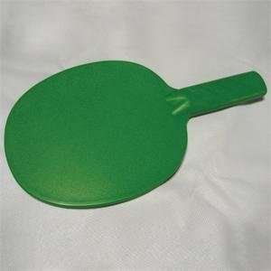 Worldwide Plastic Table Tennis Paddle, Textured Face