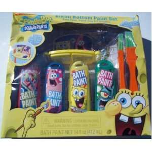 Sponge Bob Squarepants Bikini Bottom Bath Time Paint Set Toys & Games
