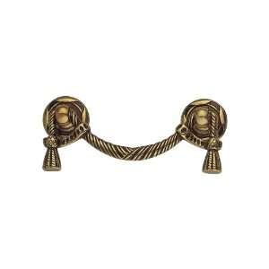 .54 Louis XVI French Antique Gold Pulls Cabinet