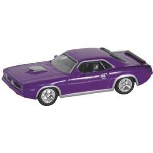 Model Power   70 Plymouth Hemi Barracuda Purple (Trains